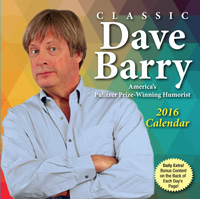 Classic Dave Barry Page-A-Day Calendar 2016