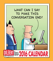 Dilbert Weekly Engagement Planner 2016