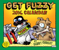 Get Fuzzy Page-A-Day Calendar 2016