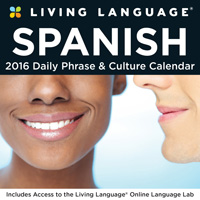Living Language: Spanish Page-A-Day Calendar 2016