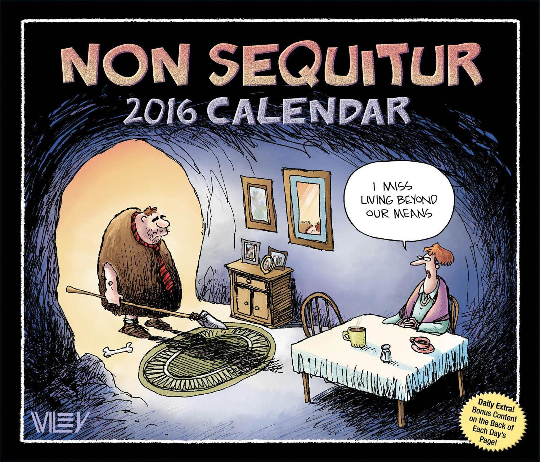 Non Sequitur Page A Day Calendar 2016 449465506 Humor
