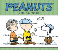 Peanuts Weekly Engagement Planner 2016
