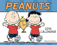 Peanuts Page-A-Day Calendar 2016