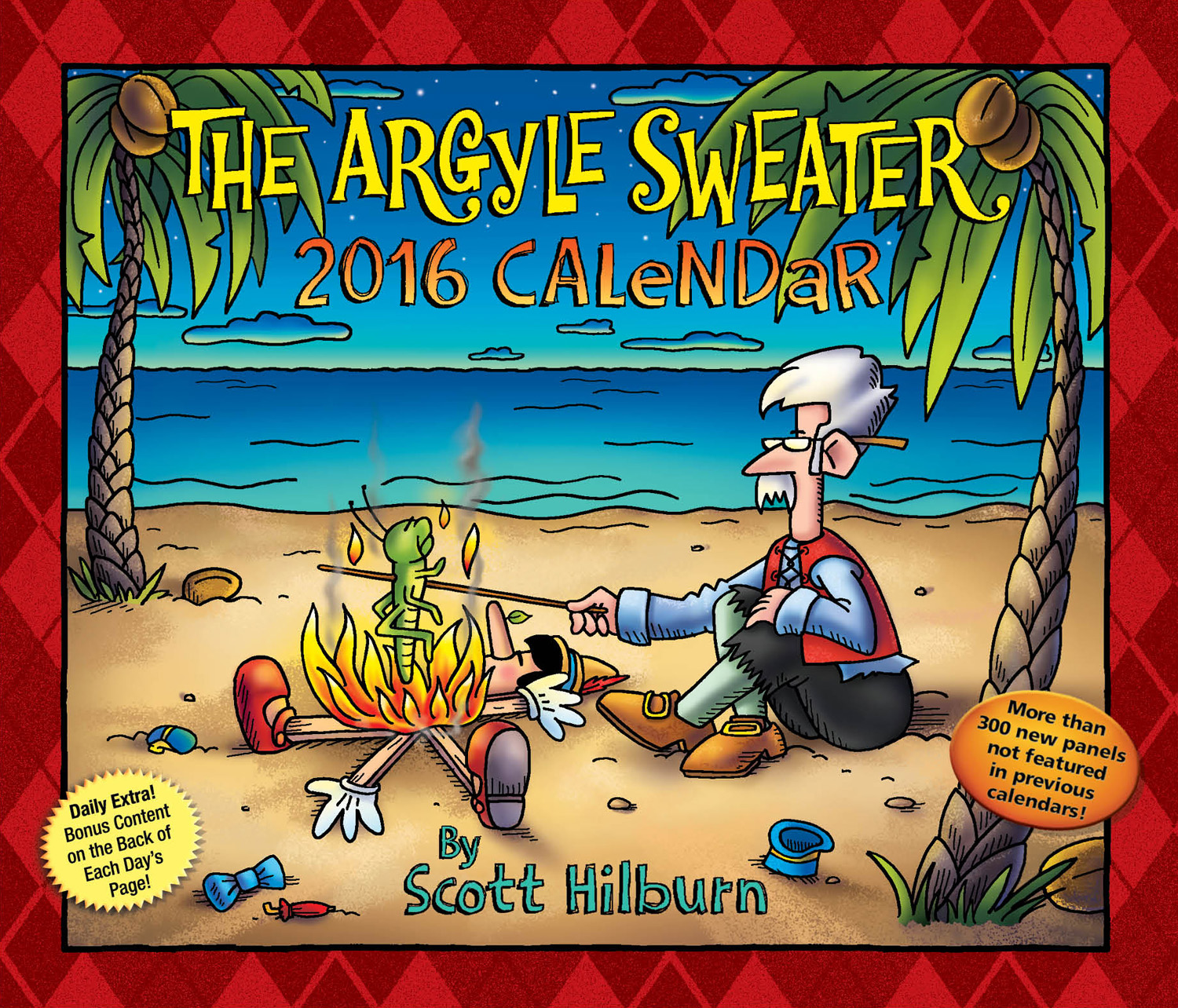 The Argyle Sweater Page-A-Day Calendar 2016 9781449464943