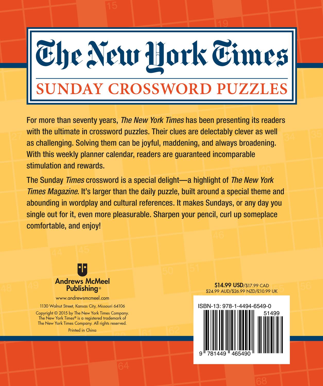 Print new york times crossword puzzle