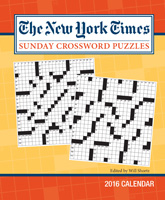 The New York Times Sunday Crossword Puzzles Weekly Engagement Planner 2016