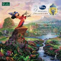 Thomas Kinkade: The Disney Dreams Collection Wall Calendar 2016 9781449468712