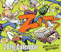 Zits Page-A-Day Calendar 2016