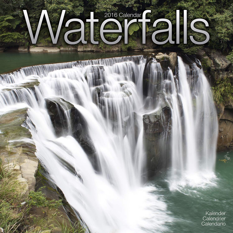 Waterfalls Calendar 2016 | Pet Prints Inc.