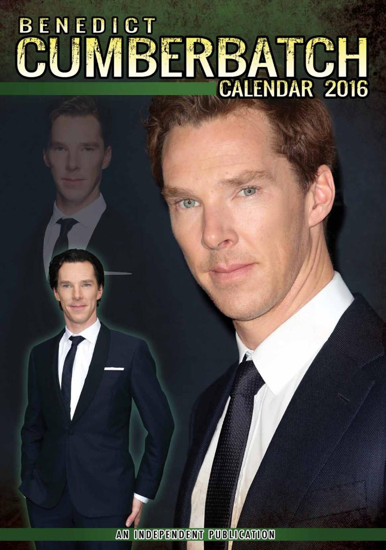 Benedict Cumberbatch Celebrity Wall Calendar 2016  9788898521609