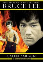 Bruce Lee Celebrity Wall Calendar 2016