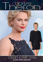 Charlize Theron Celebrity Wall Calendar 2016