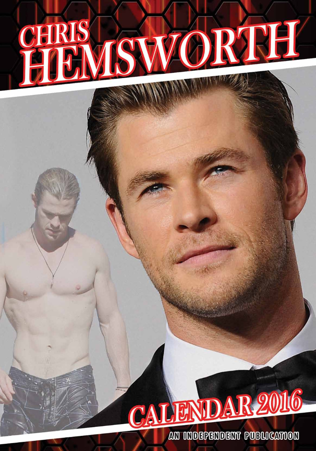 Chris Hemsworth Celebrity Wall Calendar 2016  9788898521661