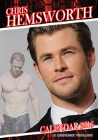 Chris Hemsworth Celebrity Wall Calendar 2016