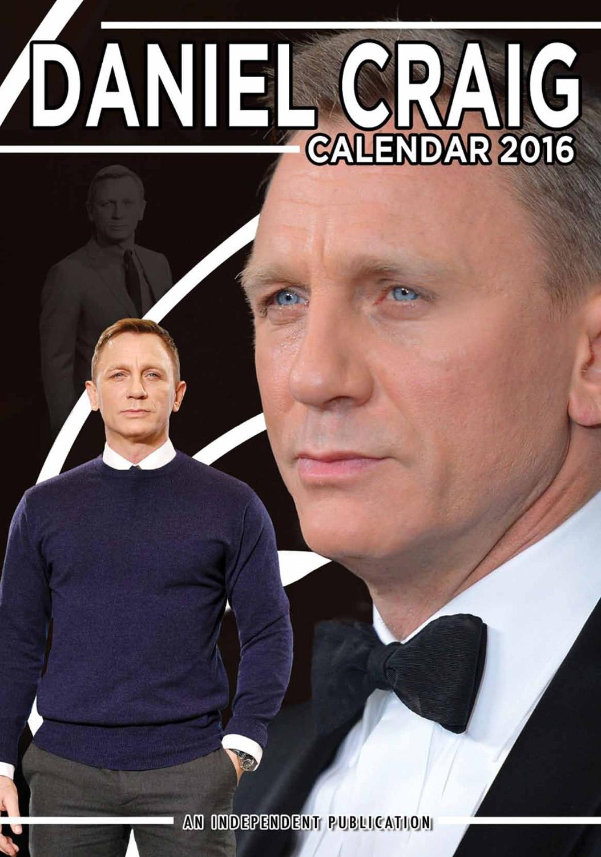Daniel Craig Celebrity Wall Calendar 2016  9788898521692