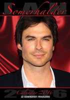 Ian Somerhalder Celebrity Wall Calendar 2016