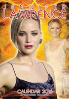 Jennifer Lawrence Celebrity Wall Calendar 2016