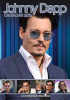 Johnny Depp Celebrity Wall Calendar 2016