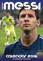 Lionel Messi Celebrity Wall Calendar 2016