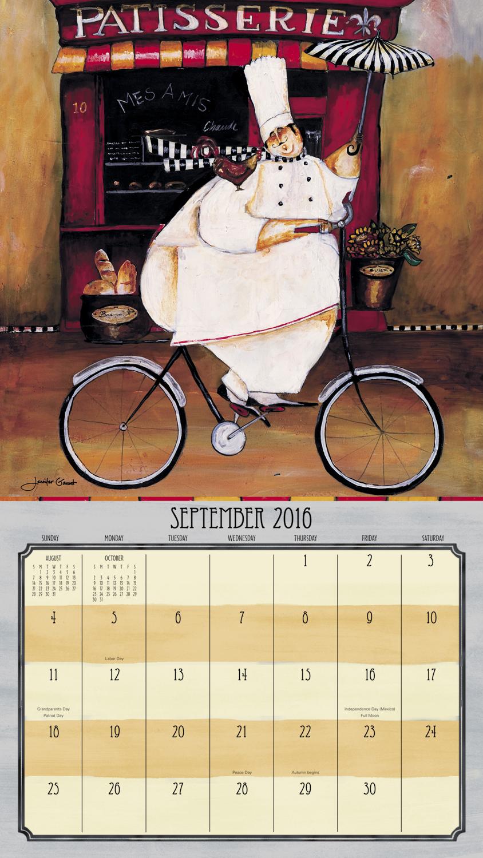 Jennifer Garant Wall Calendar 2016 inside 9781629054148