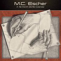 M.C. Escher Wall Calendar 2016