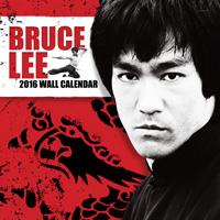 Bruce Lee Wall Calendar 2016