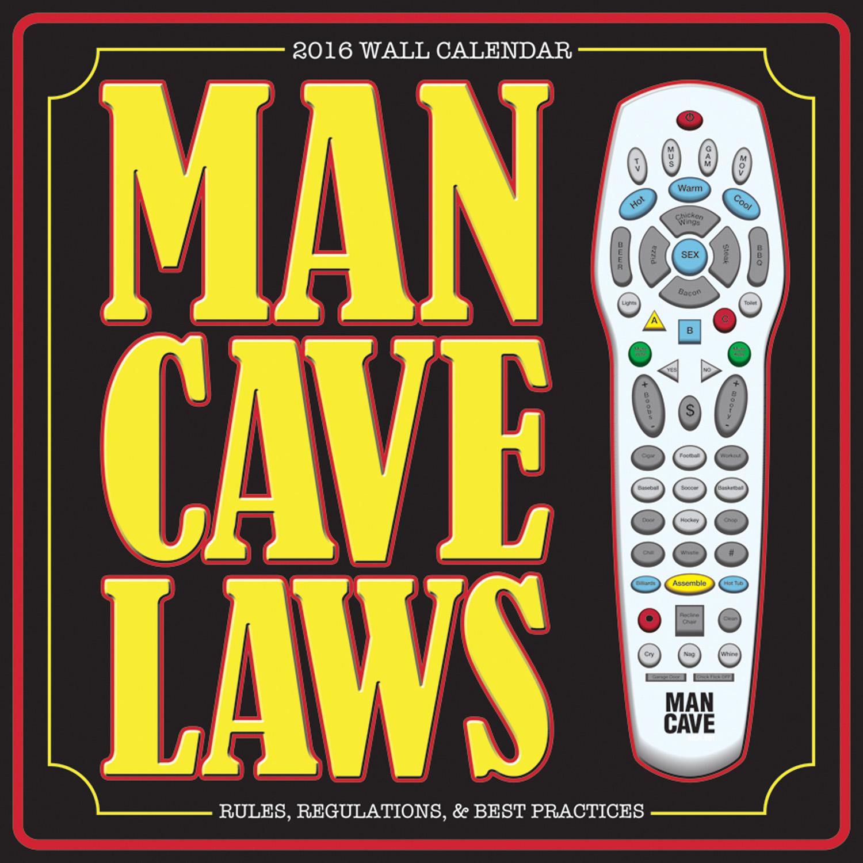 Man Cave Wall Calendar 2016 9781554843169