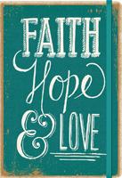 Faith, Hope & Love Deconstructed Planner Calendar 2016