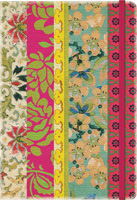 Bohemian Vintage Floral Deconstructed Planner Calendar 2016