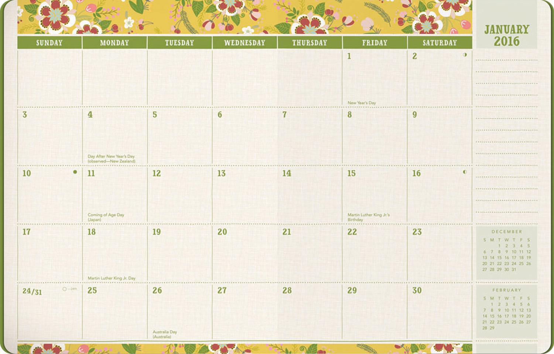 garden diary planner