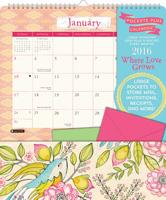 Where Love Grows Pocket Plus Calendar 2016