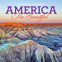America The Beautiful Page-A-Day Calendar 2016
