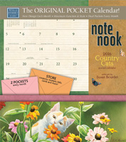 Country Cats Note Nook Calendar 2016