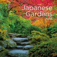 Japanese Gardens Wall Calendar 2016