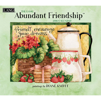 Lang: Abundant Friendship Wall Calendar 2016