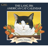 Lang: American Cat Wall Calendar 2016 by Lang