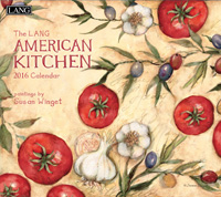 Lang: American Kitchen Wall Calendar 2016