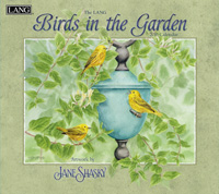 Lang: Birds In The Garden Wall Calendar 2016