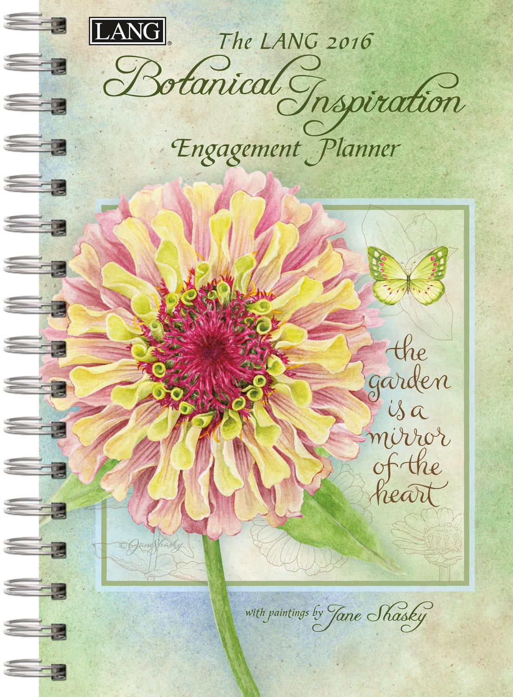 Lang: Botanical Inspiration Engagement Planner 2016 9780741250650