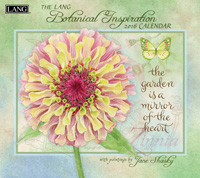 Lang: Botanical Inspiration Wall Calendar 2016 by Lang