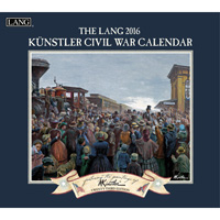 Lang: Civil War Wall Calendar 2016