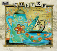 Lang: Coffee Wall Calendar 2016