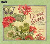 Lang: Cottage Garden Wall Calendar 2016