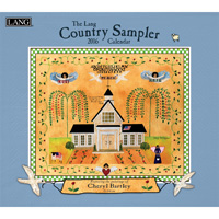 Lang: Country Sampler Wall Calendar 2016