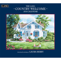 Lang: Laura Berry Country Welcome Wall Calendar 2016