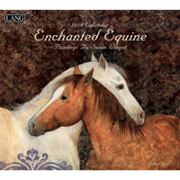 Lang: Enchanted Equine Wall Calendar 2016
