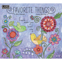 Lang: Wendy Bentley Favorite Things Wall Calendar 2016