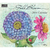 Lang: Full Bloom Wall Calendar 2016