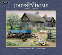Lang: Journey Home Wall Calendar 2016