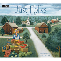 Lang: Just Folks Wall Calendar 2016 by Lang